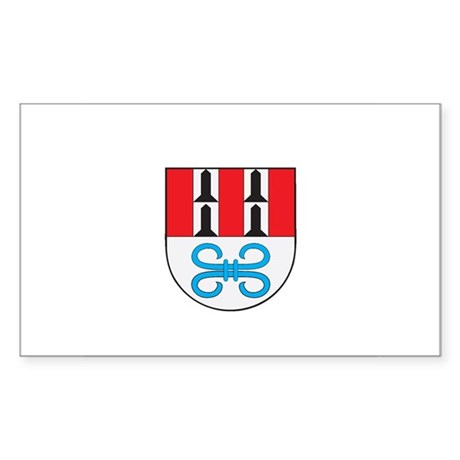 BODENSEE Rectangle Sticker