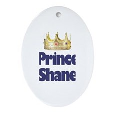 Prince Shane Oval Ornament
