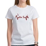 Zombie Hunter Splatters Women's T-Shirt