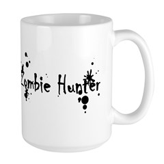 Zombie Hunter Splatters Large Mug