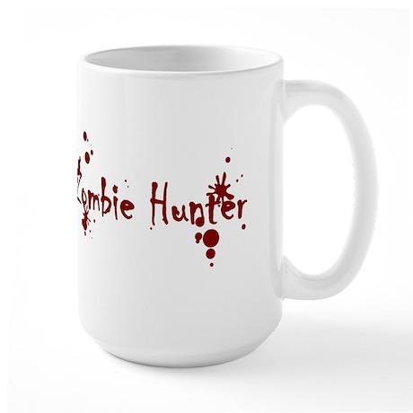 Zombie Hunter Splatters Large Mug