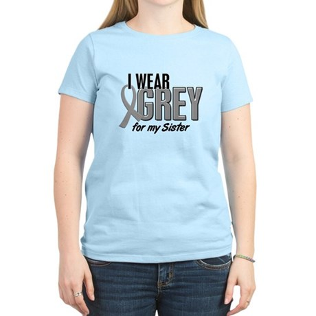 I Wear Grey For My Sister 10 Women's Light T-Shirt