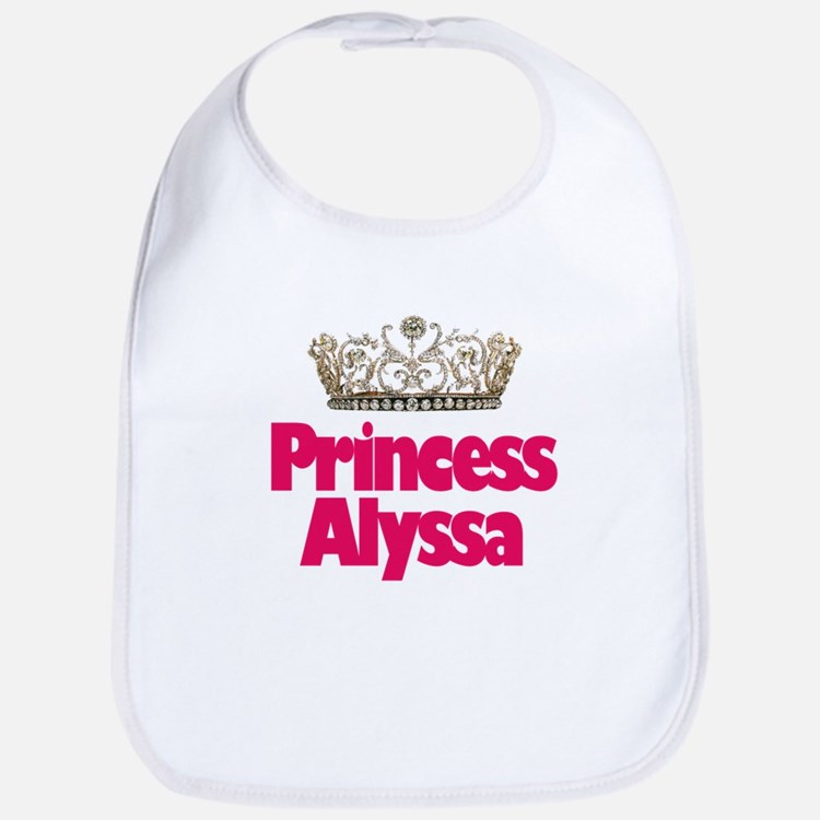 Princess Alyssa Bib