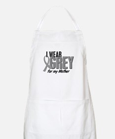 I Wear Grey For My Mother 10 BBQ Apron