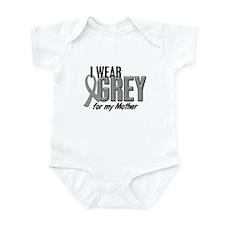 I Wear Grey For My Mother 10 Infant Bodysuit