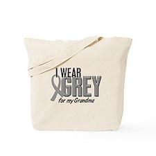 I Wear Grey For My Grandma 10 Tote Bag