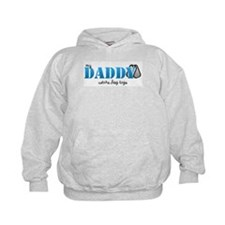 My daddy wears dogtags Hoodie