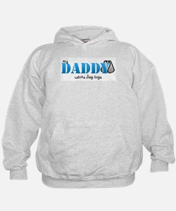 My daddy wears dogtags Hoodie