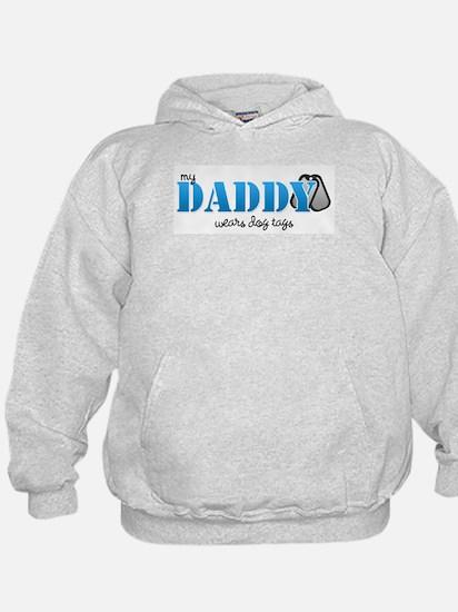 My daddy wears dogtags Hoody