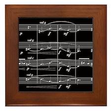 """""""String Quartet Number One"""" Framed Tile"""