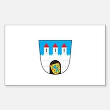 CELLE CITY Rectangle Decal