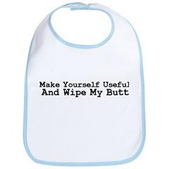 Make Youself Useful Bib