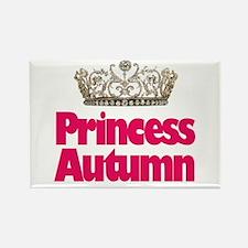 Princess Autumn Rectangle Magnet