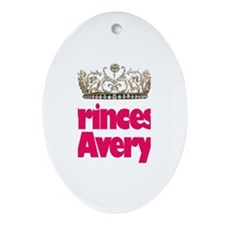 Princess Avery Oval Ornament