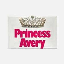 Princess Avery Rectangle Magnet