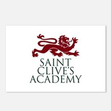 Saint Clive's Postcards (Package of 8)