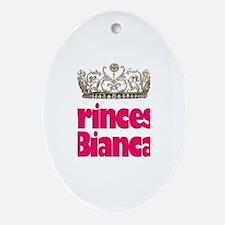 Princess Bianca Oval Ornament