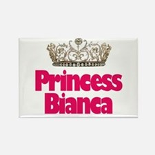 Princess Bianca Rectangle Magnet