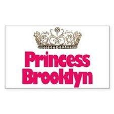 Princess Brooklyn Rectangle Decal