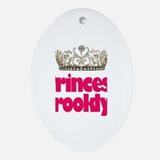 Princess Brooklyn Oval Ornament