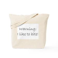 Biter Tote Bag