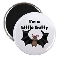 Batty Halloween Magnet