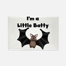 Batty Halloween Rectangle Magnet