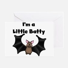 Batty Halloween Greeting Card