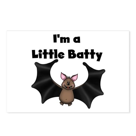 Batty Halloween Postcards (Package of 8)