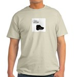 NOT THE DOG HOUSE AGAIN! Ash Grey T-Shirt
