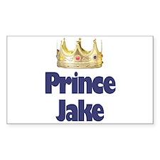 Prince Jake Rectangle Decal
