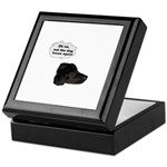 NOT THE DOG HOUSE AGAIN! Keepsake Box