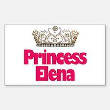 Princess Elena Rectangle Decal