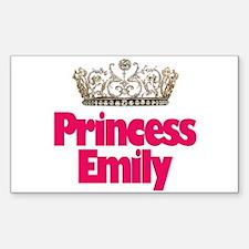 Princess Emily Rectangle Decal