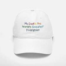 Greatest Firefighter Baseball Baseball Cap