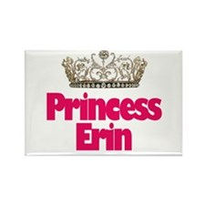 Princess Erin Rectangle Magnet