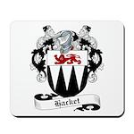 Hacket Family Crest Mousepad