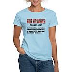 Genealogists Rule Women's Light T-Shirt