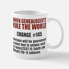 Genealogists Rule Mug