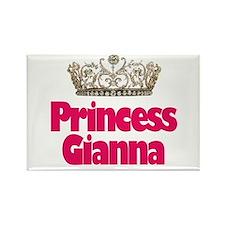 Princess Gianna Rectangle Magnet