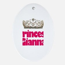 Princess Gianna Oval Ornament