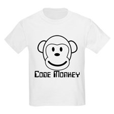 Code Monkey Kids T-Shirt