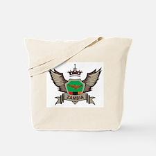 Zambia Emblem Tote Bag