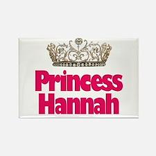 Princess Hannah Rectangle Magnet