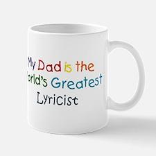 Greatest Lyricist Mug