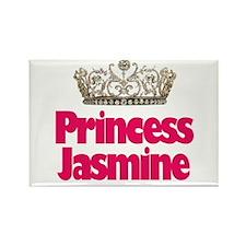 Princess Jasmine Rectangle Magnet
