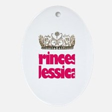 Princess Jessica Oval Ornament