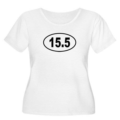 15.5 Womens Plus-Size Scoop Neck T