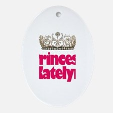 Princess Katelyn Oval Ornament