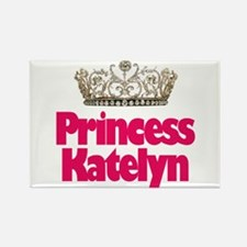 Princess Katelyn Rectangle Magnet